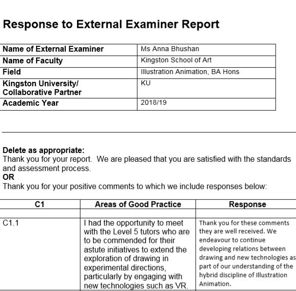 external examiner report 1819 002